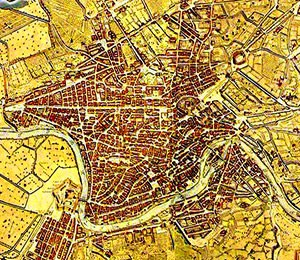 Tourist Attractions In Rome Map