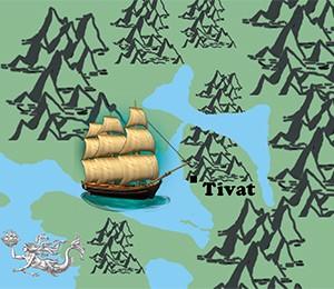 Mapa Tivta