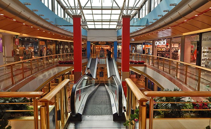 Auchan shopping mall in Venice
