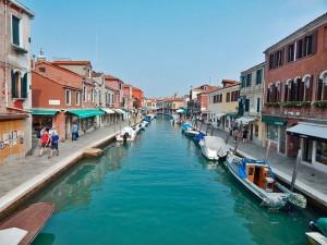 Murano Island in Venice
