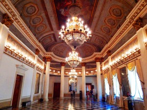 The ballroom of the Museum Correr