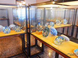 Collection of porcelain in the Museum Correr
