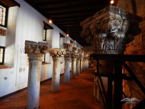 Old columns of the Doge's Palace