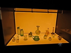 Glass collection from the Roman period