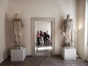 Archeological Museum, collection of ancient statues