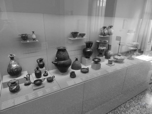 Archeological Museum, collection of ancient pottery