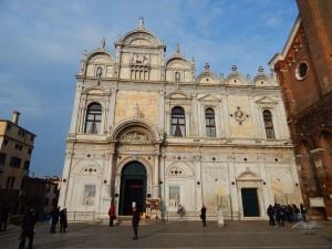 Ulaz u Velika škola San Marko u Veneciji