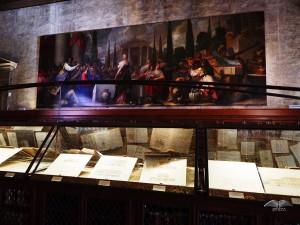 Sala Capitolare i kolekcija starih medicinskih crteža