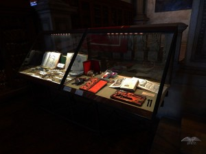 Capitolare room and the collection of the old medical instruments