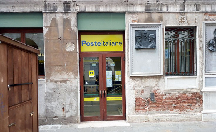 Post Office on St Mark's Square