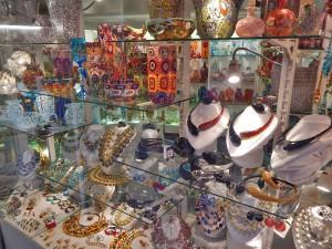 Murano glass stores in Venice