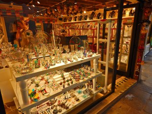 Prodavnice Murano stakla u Veneciji