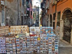 Souvenirs on Venetian streets