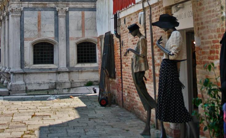 Vintage shopping u Veneciji
