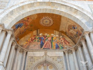 Basilica of San Marco, richly decorated facade
