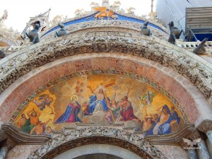 Basilica of San Marco, richly decorated facade