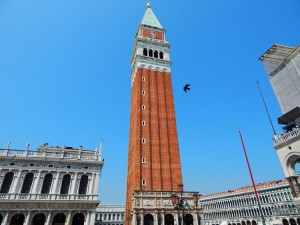 Bell Tower of the Basilica San Marco in Venice