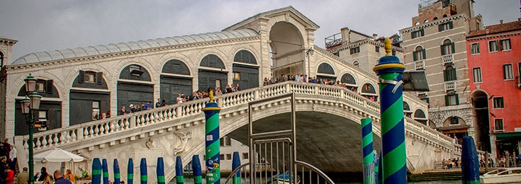 Bridge Rialto in Venice