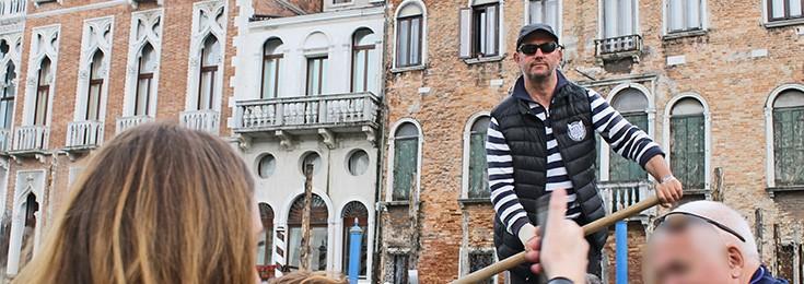 Cheep gondola ride in Venice