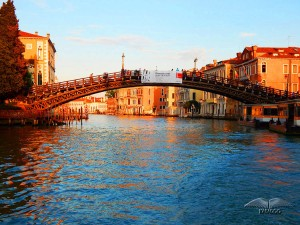 Accademia Bridge on Grand Canal