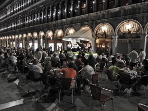 Piazza San Marco during the night