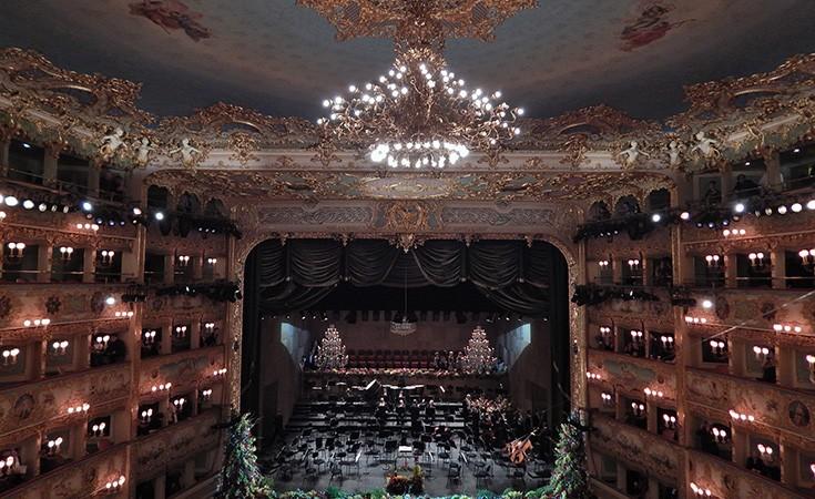 Theatre La Fenice in Venice