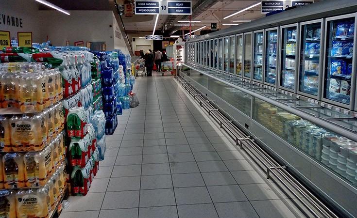 Veliki Interspar supermarket u Mestre