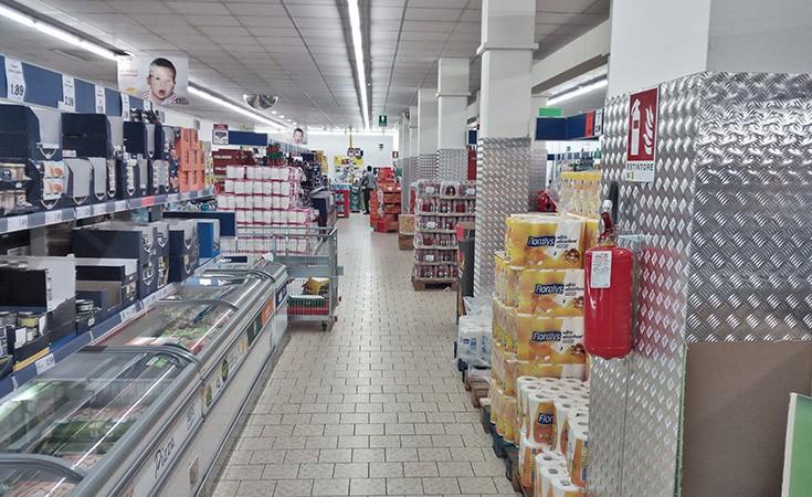 Lidl supermarket u Mestre