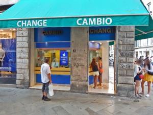 Menjačnice u Veneciji