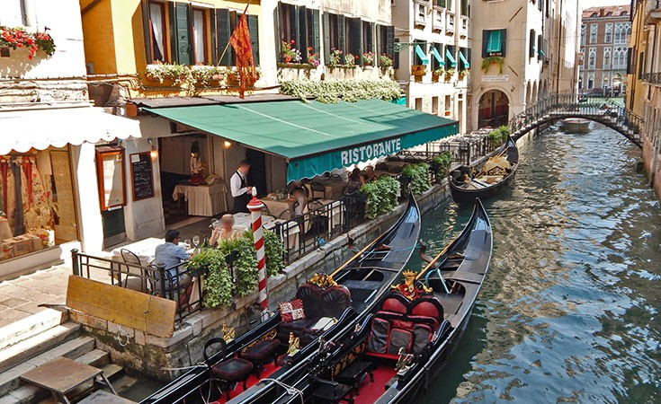 Tricks of Venetian restaurant owners