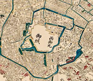 Mapa Tokija