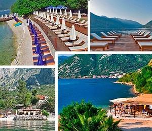 Beaches in Boka Kotorska