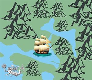 Map of Boka Kotorska