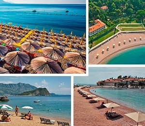 Beaches in Budva