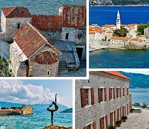 Sights in Budva