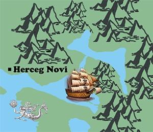 Mapa Herceg Novog