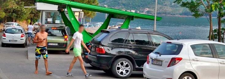 Parking u Perastu