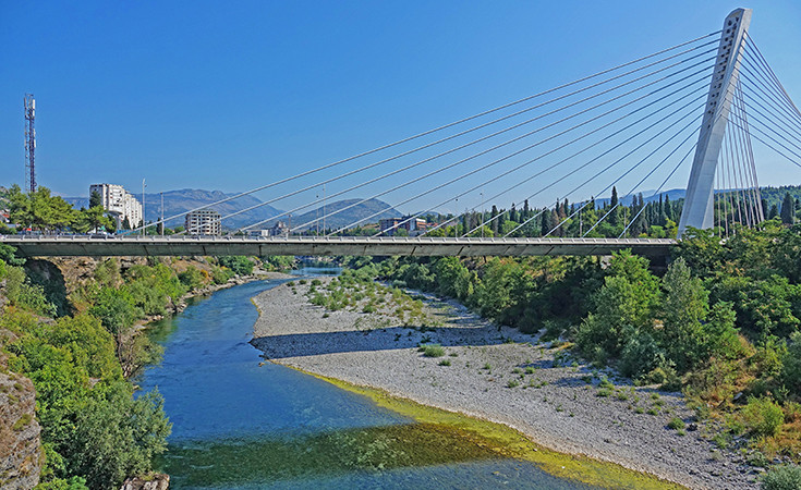 Bridges in Podgorica