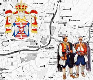 Map of Podgorica