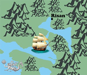 Mapa Risna