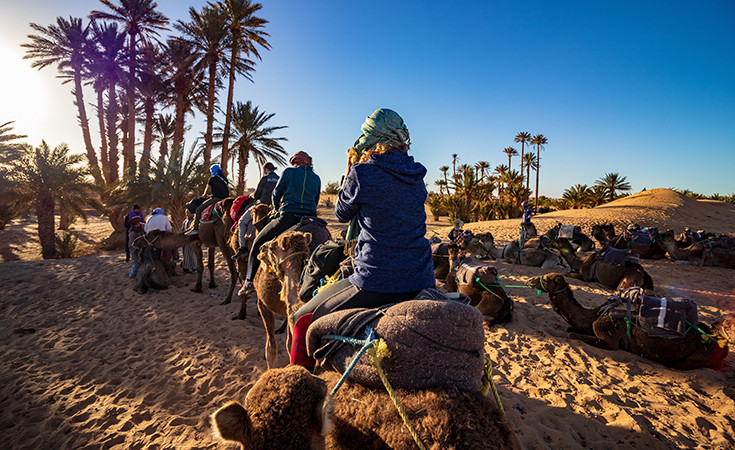 When to visit Morocco