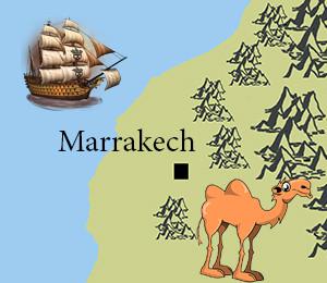 Map of Marrakesh