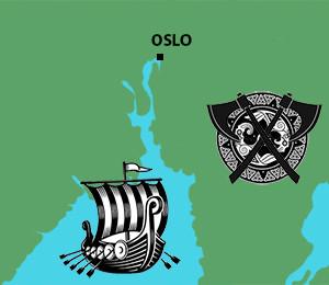 Mapa Osla