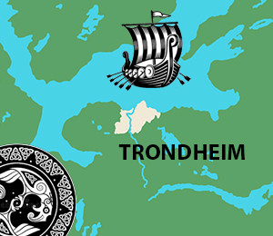 Map of Trondheim