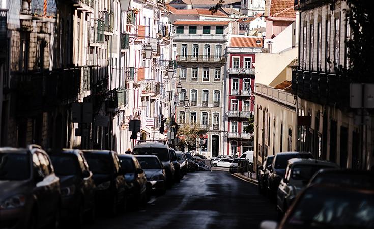 Parking u Lisabonu