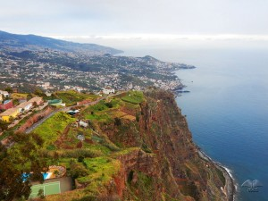 View on Funchal from Cabo Girao cliff