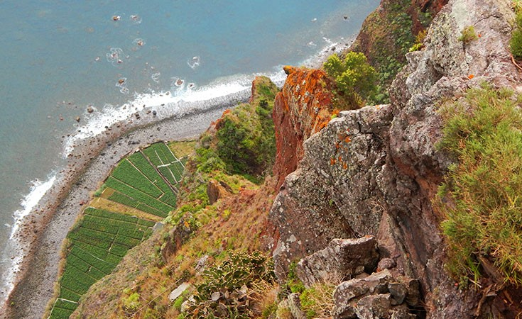 Cabo Girao Madeira's highest cliff