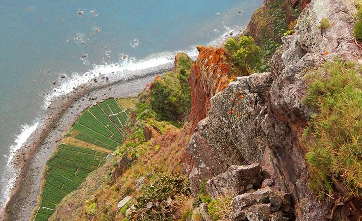 Kabo Žirao najviša litica Madeire