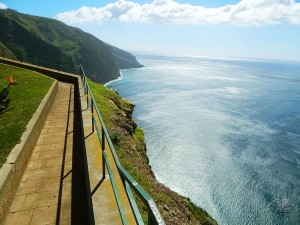 Viewpoint Punta do Pargo on Madeira Island