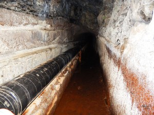 Tunel na Rabasal planinarskoj stazi